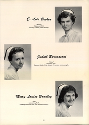 Page 15, 1958 Edition, Mary Hitchcock Memorial School of Nursing - SON Shine Yearbook (Hanover, NH) online yearbook collection