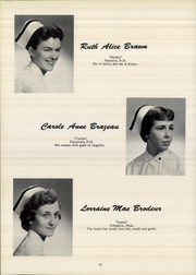 Page 16, 1958 Edition, Mary Hitchcock Memorial School of Nursing - SON Shine Yearbook (Hanover, NH) online yearbook collection