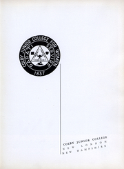 Page 4, 1939 Edition, Colby Sawyer College - Colbyan Yearbook (New London, NH) online yearbook collection
