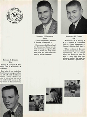 Page 15, 1959 Edition, Cardigan Mountain School - Blaze Yearbook (Canaan, NH) online yearbook collection