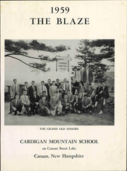 Page 7, 1959 Edition, Cardigan Mountain School - Blaze Yearbook (Canaan, NH) online yearbook collection