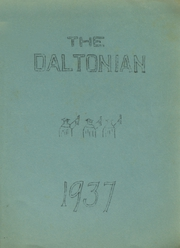 1937 Edition, Dalton High School - Daltonian Yearbook (Dalton, NH)