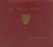 Page 1, 1932 Edition, St Pauls School - Sixth Form Yearbook (Concord, NH) online yearbook collection