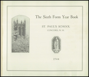Page 5, 1944 Edition, St Pauls School - Sixth Form Yearbook (Concord, NH) online yearbook collection