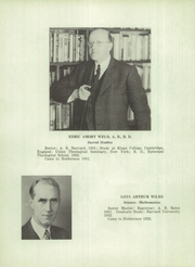 Page 10, 1948 Edition, Holderness School - Dial Yearbook (Holderness, NH) online yearbook collection