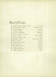Page 6, 1948 Edition, Holderness School - Dial Yearbook (Holderness, NH) online yearbook collection