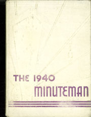 1940 Edition, Atlantic Union College - Minuteman Yearbook (South Lancaster, MA)