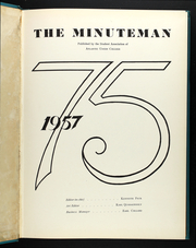Page 3, 1957 Edition, Atlantic Union College - Minuteman Yearbook (South Lancaster, MA) online yearbook collection