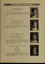 Page 37, 1927 Edition, Massachusetts College of Liberal Arts - Vox Anni Yearbook (North Adams, MA) online yearbook collection