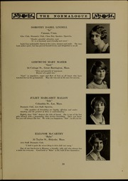 Page 41, 1927 Edition, Massachusetts College of Liberal Arts - Vox Anni Yearbook (North Adams, MA) online yearbook collection