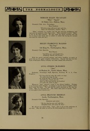 Page 42, 1927 Edition, Massachusetts College of Liberal Arts - Vox Anni Yearbook (North Adams, MA) online yearbook collection