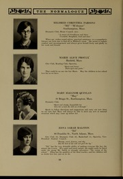 Page 46, 1927 Edition, Massachusetts College of Liberal Arts - Vox Anni Yearbook (North Adams, MA) online yearbook collection
