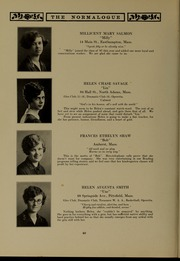Page 48, 1927 Edition, Massachusetts College of Liberal Arts - Vox Anni Yearbook (North Adams, MA) online yearbook collection