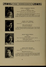 Page 50, 1927 Edition, Massachusetts College of Liberal Arts - Vox Anni Yearbook (North Adams, MA) online yearbook collection