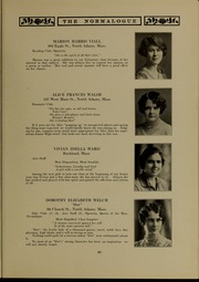 Page 51, 1927 Edition, Massachusetts College of Liberal Arts - Vox Anni Yearbook (North Adams, MA) online yearbook collection