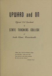 Page 5, 1948 Edition, Massachusetts College of Liberal Arts - Vox Anni Yearbook (North Adams, MA) online yearbook collection