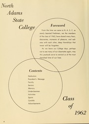Page 8, 1962 Edition, Massachusetts College of Liberal Arts - Vox Anni Yearbook (North Adams, MA) online yearbook collection