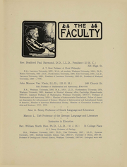 Page 17, 1906 Edition, Wesleyan University - Olla Podrida Yearbook (Middletown, CT) online yearbook collection