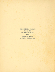 Page 3, 1906 Edition, Wesleyan University - Olla Podrida Yearbook (Middletown, CT) online yearbook collection