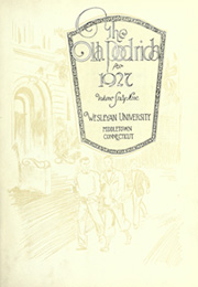 Page 7, 1927 Edition, Wesleyan University - Olla Podrida Yearbook (Middletown, CT) online yearbook collection
