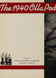 Page 6, 1940 Edition, Wesleyan University - Olla Podrida Yearbook (Middletown, CT) online yearbook collection