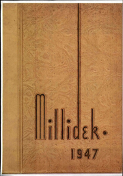 Millikin University - Millidek Yearbook (Decatur, IL) online yearbook collection, 1947 Edition, Page 1