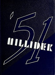 Millikin University - Millidek Yearbook (Decatur, IL) online yearbook collection, 1951 Edition, Page 1