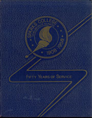 1958 Edition, Sparks College - Yearbook (Shelbyville, IL)