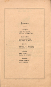 Page 3, 1871 Edition, Ohio Wesleyan University - Le Bijou Yearbook (Delaware, OH) online yearbook collection