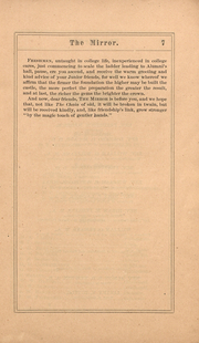 Page 7, 1871 Edition, Ohio Wesleyan University - Le Bijou Yearbook (Delaware, OH) online yearbook collection