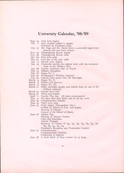 Page 11, 1909 Edition, Ohio Wesleyan University - Le Bijou Yearbook (Delaware, OH) online yearbook collection