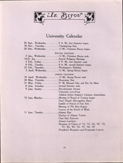 Page 12, 1912 Edition, Ohio Wesleyan University - Le Bijou Yearbook (Delaware, OH) online yearbook collection