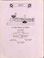 Page 17, 1912 Edition, Ohio Wesleyan University - Le Bijou Yearbook (Delaware, OH) online yearbook collection