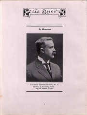Page 8, 1912 Edition, Ohio Wesleyan University - Le Bijou Yearbook (Delaware, OH) online yearbook collection