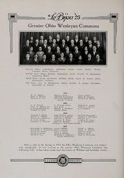 Page 156, 1925 Edition, Ohio Wesleyan University - Le Bijou Yearbook (Delaware, OH) online yearbook collection