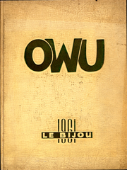 1961 Edition, Ohio Wesleyan University - Le Bijou Yearbook (Delaware, OH)