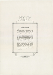 Page 9, 1925 Edition, Wittenberg University - Witt Yearbook (Springfield, OH) online yearbook collection