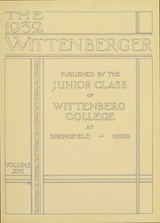 Page 6, 1932 Edition, Wittenberg University - Witt Yearbook (Springfield, OH) online yearbook collection
