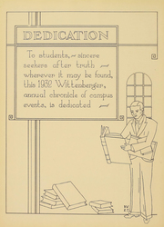 Page 7, 1932 Edition, Wittenberg University - Witt Yearbook (Springfield, OH) online yearbook collection