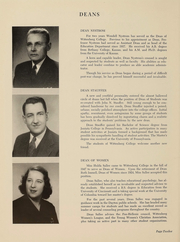 Page 12, 1948 Edition, Wittenberg University - Witt Yearbook (Springfield, OH) online yearbook collection