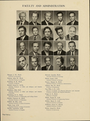 Page 15, 1948 Edition, Wittenberg University - Witt Yearbook (Springfield, OH) online yearbook collection