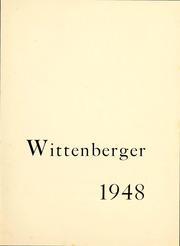 Page 2, 1948 Edition, Wittenberg University - Witt Yearbook (Springfield, OH) online yearbook collection