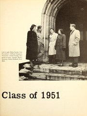 Page 17, 1951 Edition, Wittenberg University - Witt Yearbook (Springfield, OH) online yearbook collection