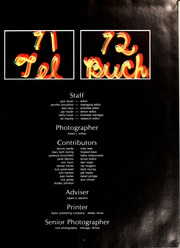 Page 5, 1972 Edition, University of Akron - Tel Buch Yearbook (Akron, OH) online yearbook collection