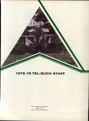 Page 7, 1979 Edition, University of Akron - Tel Buch Yearbook (Akron, OH) online yearbook collection