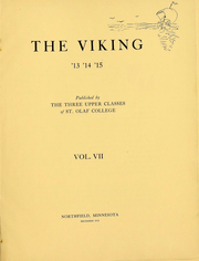 Page 3, 1915 Edition, St Olaf College - Viking Yearbook (Northfield, MN) online yearbook collection