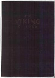 1930 Edition, St Olaf College - Viking Yearbook (Northfield, MN)