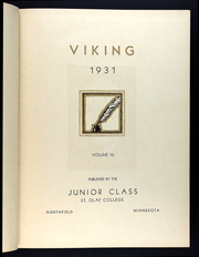 Page 7, 1931 Edition, St Olaf College - Viking Yearbook (Northfield, MN) online yearbook collection