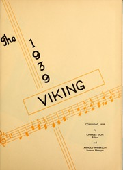 Page 5, 1939 Edition, St Olaf College - Viking Yearbook (Northfield, MN) online yearbook collection