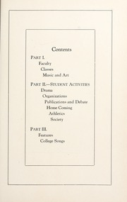 Page 13, 1924 Edition, College of Idaho - Trail Yearbook (Caldwell, ID) online yearbook collection